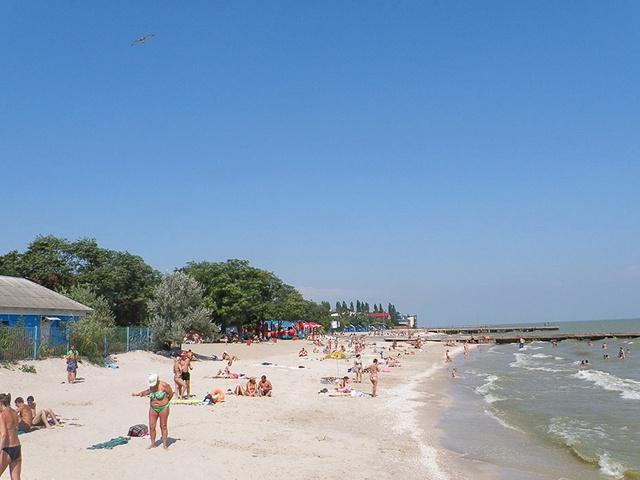 Фото пляжа города ейска 82